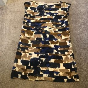 Club Monaco silk tunic top